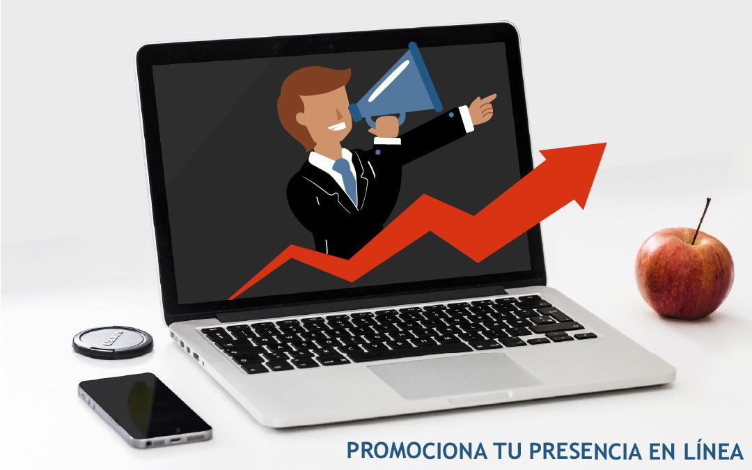 Promociona tu presencia en línea